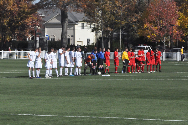 NEC Soccer championship - Monmouth vs St. Francis (PA)