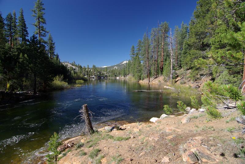 The upper Bear Dam Diversion