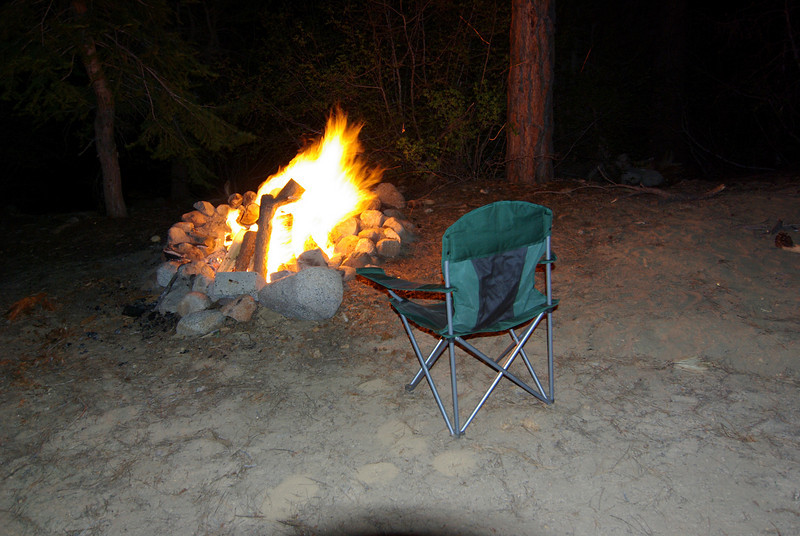 Finally, A Campfire not a moment to soon