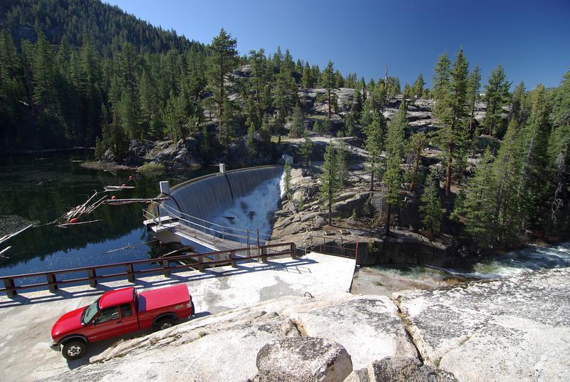 Ariving at Bear Dam Diversion