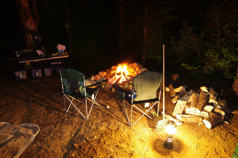 The Campfire setting.