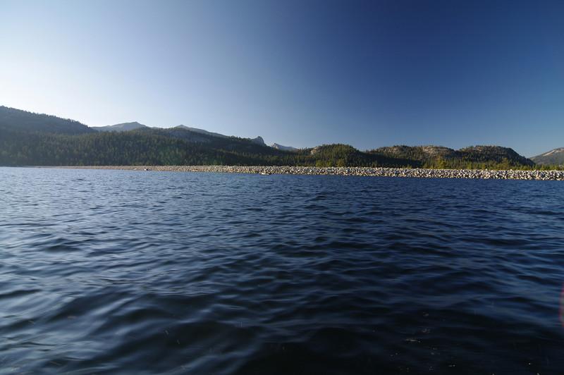 The Edison Lake Dam.