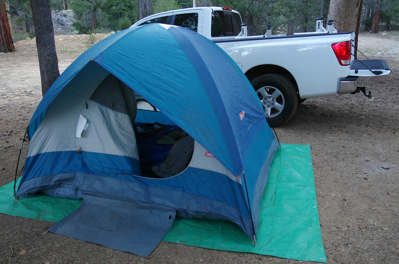 Dad's Tent.