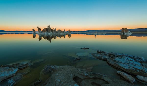 Sunset at Mono Lake California