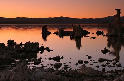 Monp Lake Silhouettes
