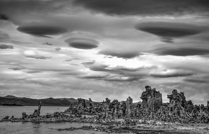Lenticular Sky Over Mono Lake