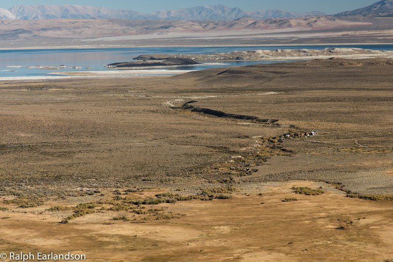 Mono Lake as seen from US Highway 395.