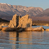 The eastern Sierras form a backdrop to Mono Lake at sunrise.