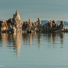 Tufa reflections in Mono Lake.