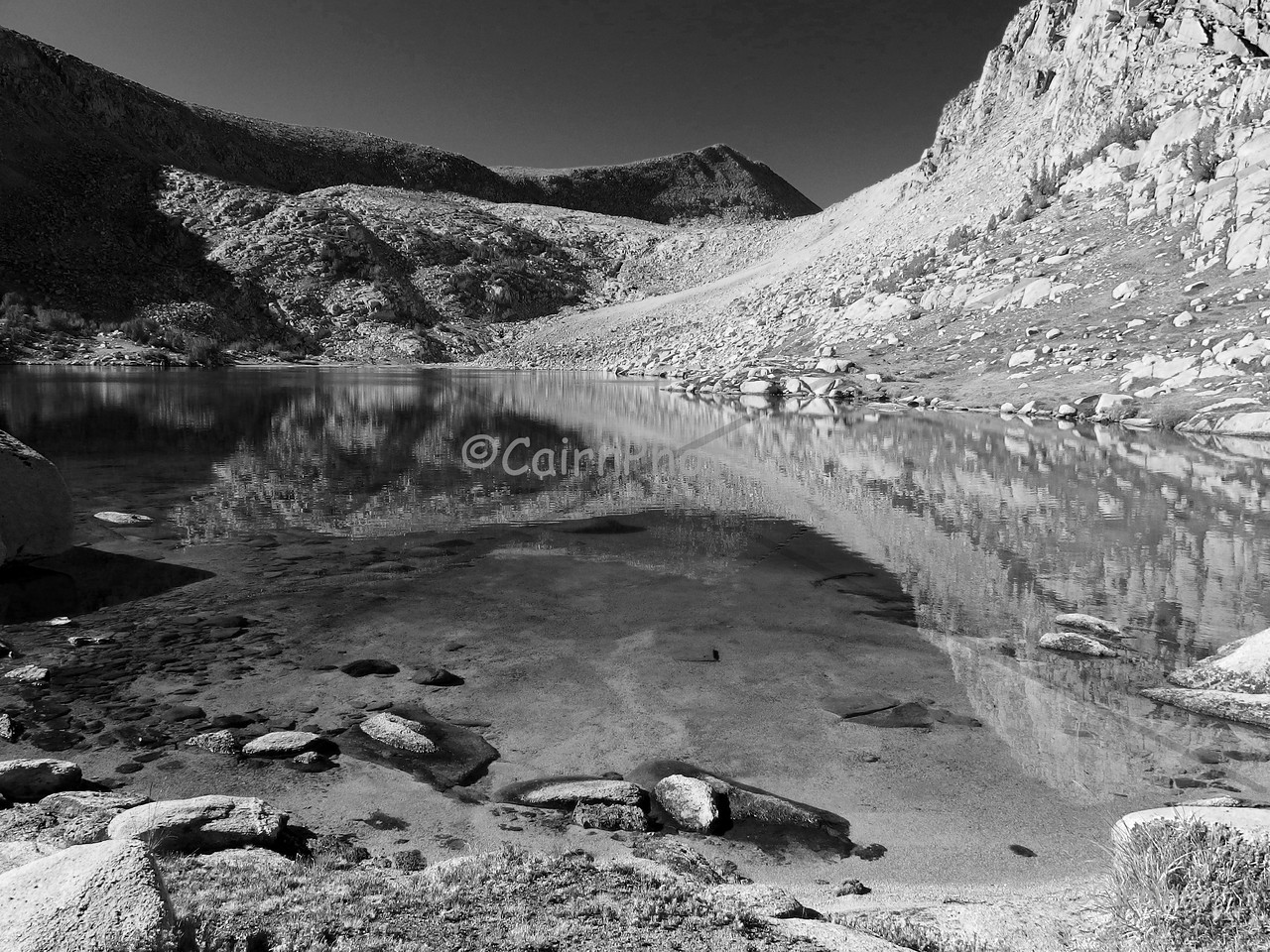 Golden Lake, Black and White