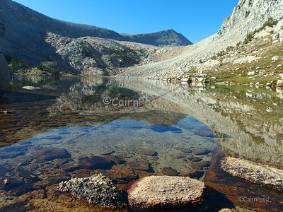 Mt. Starr reflection in Golden Lake