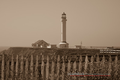 Point Arena Lighthouse,  Mendocino County, CA