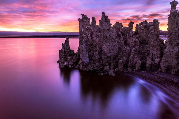 Dawn at Mono Lake, CA