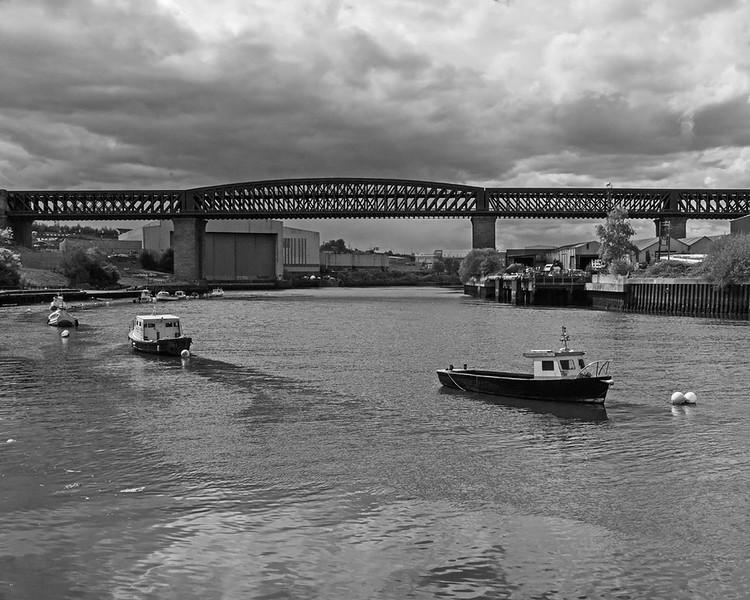 Queen Alexandra Bridge over the River Wear
