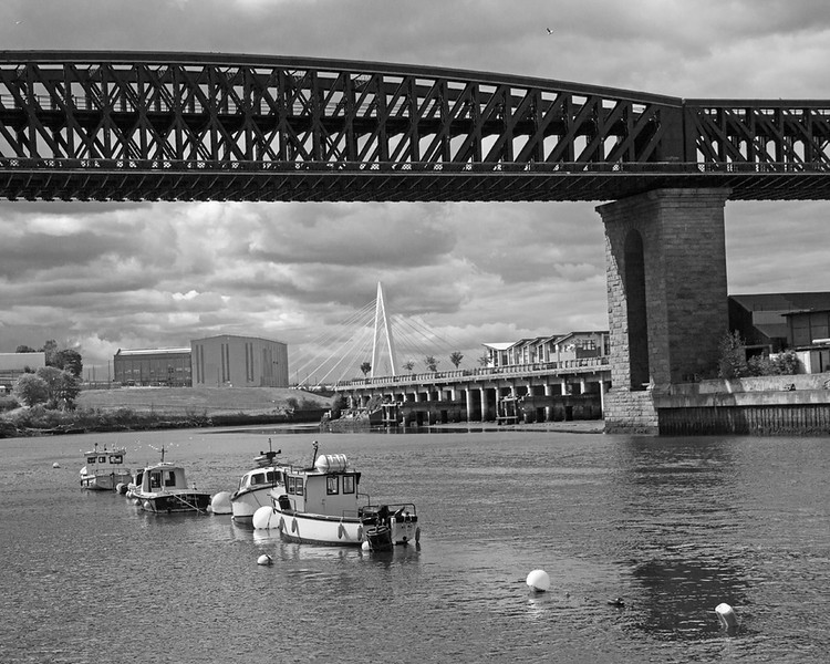 Queen Alexandra Bridge over the River Wear