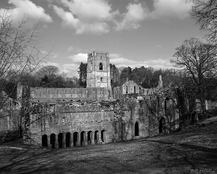 NT Fountains Abbey, nr Ripon