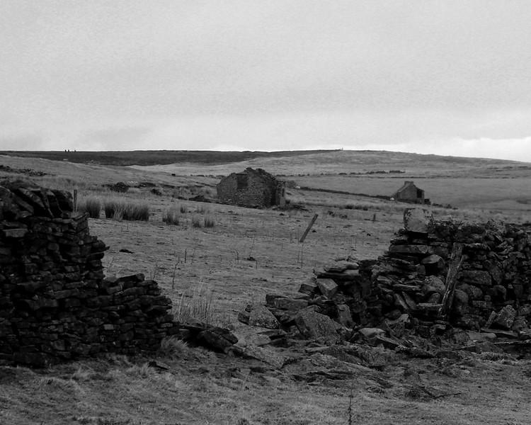 Derelict Farm above Blanchland