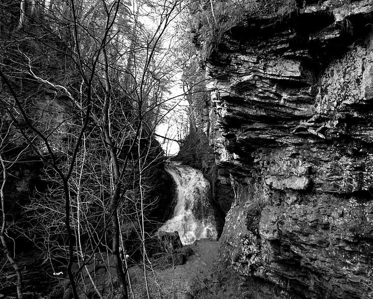 Bellingham to Hareshaw Linn waterfall