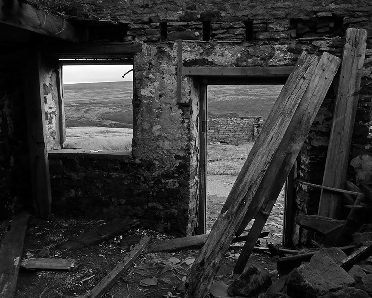 Derelict Farm above Blanchland