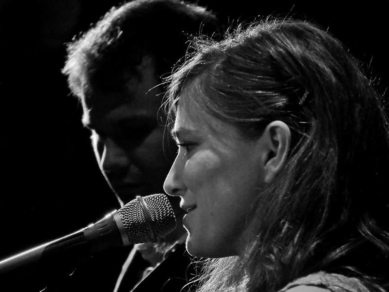 Ruth Moody from the Wailin Jennys & Adrian Dolan at Cluny II, Newcastle