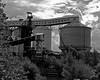 Derelict factory near Runcorn
