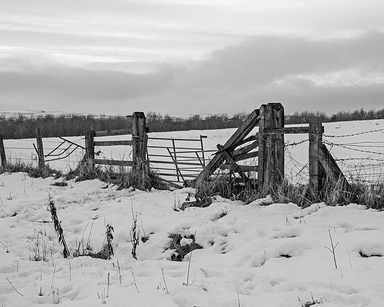 Consett in the Snow
