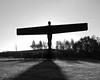 _MG_9461Angel of the North Gateshead mono
