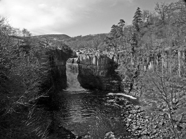 High Force waterfall, Teesdale, Co. Durham