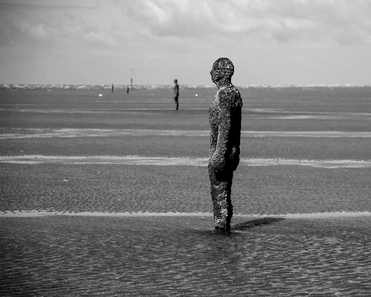 Anthony Gormley's 'Another Plcae'