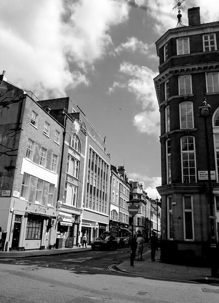 Poland Street in Soho