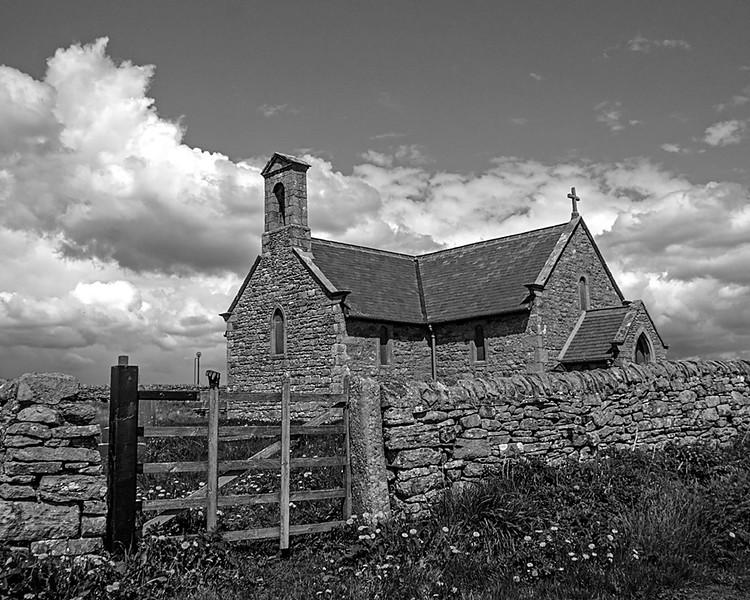 Hopper Mausoleum and St. Andrews Church