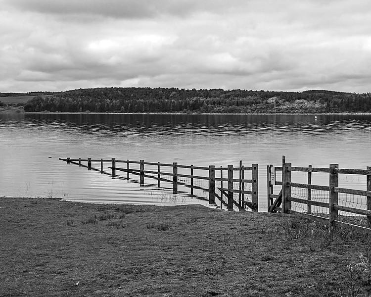 Pow Hill and Derwent Reservoir