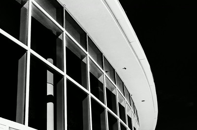 Curved roof, Rogers Center, Merrimack College