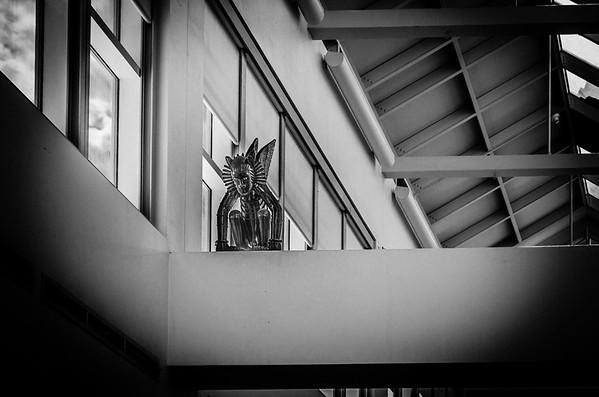 Library Gargoyle, mono