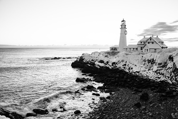 morning lighthouse