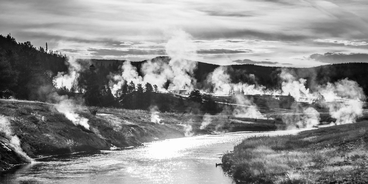 Firehole River, Early Morning
