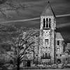 Bryn Athyn Cathedral (infrared), Bryn Athyn, PA