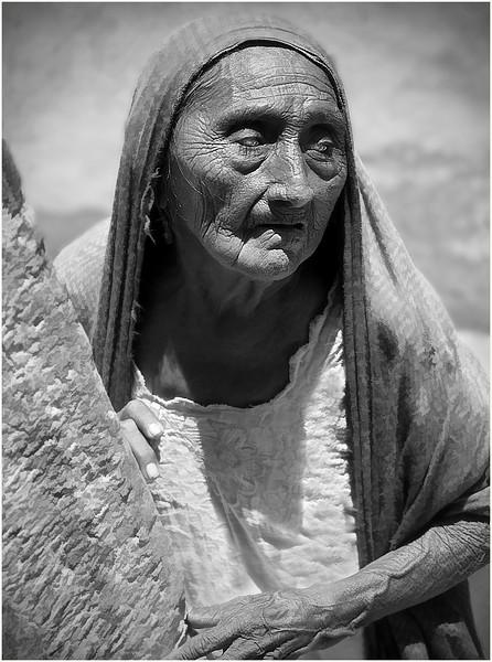 Blind Woman, Yucatan