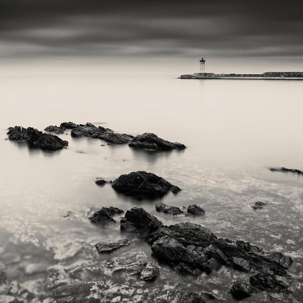 Port Vendres Lighthouse Study 4