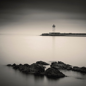 Port Vendres Lighthouse Study 3