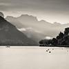 Annecy Lake, Haute Savoie, France