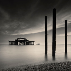 West Pier in Brighton, England