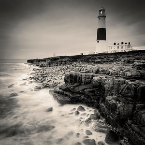 The lighthouse at Portland Bill, Dorset, England