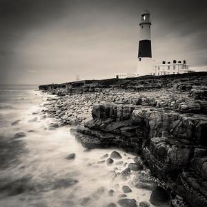 The lighthouse at Portland Bill, Dorset, England