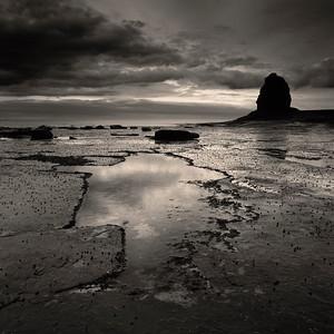 Black Nab, Saltwick Bay, Whitby, North Yorkshire, England