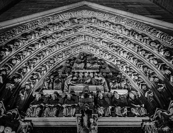 Portal of the Virgin - Notre Dame