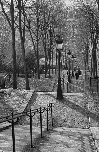Fall in Montmartre