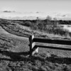 Lonely seat at Ingrebourne Hill, Rainham