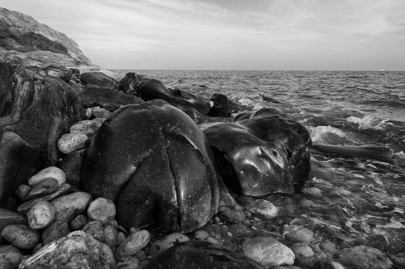 Some rocks...