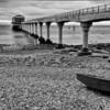 RNLI pier on Isle of Wight, somewhere
